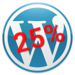 Wordpress-25%