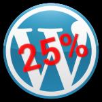 Wordpress-25%