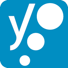 Logo Yoast Bleu